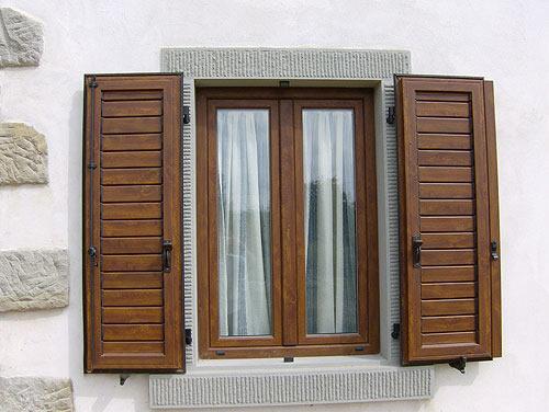 Infissi funari finestre e persiane in alluminio e pvc for Finestre in alluminio anodizzato
